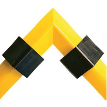 Spillblocker Eckstück PLRE206, Farbe gelb, Maß