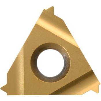 Vollprofil-Platte Außengewinde rechts 11ER0,60ISO HC6625 Steigung 0,6