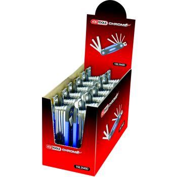 CHROMEplus® TX-Winkelstiftschlüssel-Display 158.35