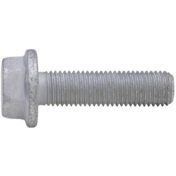 Sechskantschraube mit Flansch EN 1665 Stahl 10.9 Zink-Lamelle silber M12 x 45 100 Stück