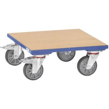 Kistenroller KF 6 - Holzboden Ladefläche 500 x 500