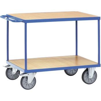 Tischwagen 2402 Ladefläche 1.000 x 700 mm mit 2 Bö