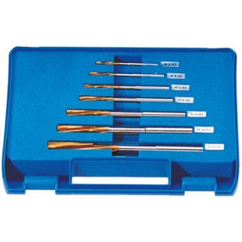 NC-Maschinenreibahlen-Satz Durchmesser 3-12 mm, H7 , HSSE-TiN
