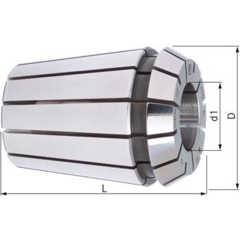 Spannzange DIN 6499 B GER 25 - 10 mm Rundlauf 5 µ