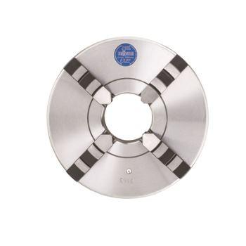 ZS 125, KK 4, 4-Backen, ISO 702-3, Bohr- und Drehbacken, Stahlkörper