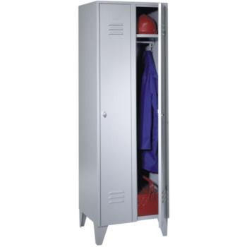 Kleiderschrank aus Stahlblech 3teilig 1850x900x500