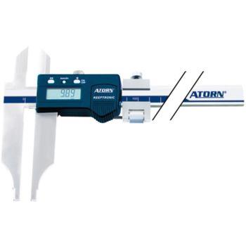 Messschieber elektronisch 300 mm Messerspitzen und Feineinstellung