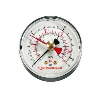 Manometer 0-16 bar RP50