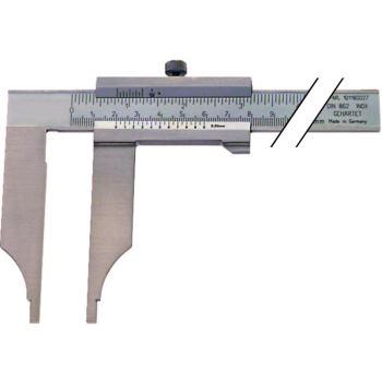 Messschieber Schieblehre INOX 300 mm ohne Messerspitzen ohne Feineinstellung