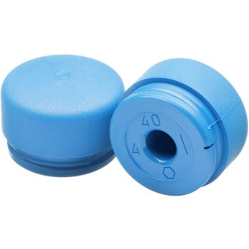 Ersatz-Schlageinsatz 30 mm Polyurethan blau