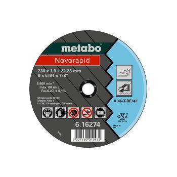 Novorapid 230 x 1,9 x 22,23 mm, Inox, Trennscheibe