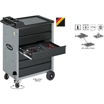 Werkzeugwagen-Vigor500-6-grau