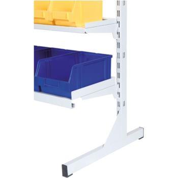 Fußständer Höhe 1820 mm (paarweise) RAL 7035 li