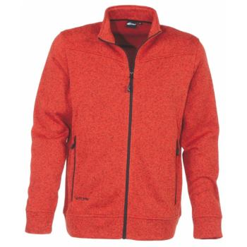 Jacket Knitted Herren orange Gr. L