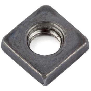 Vierkantmutter niedrige Form DIN 562 Stahl 04 blank M3 2000 Stück