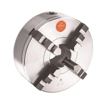 ZG 250, 4-Backen, DIN 6350, Form A, Bohr- und Drehbacken, Gusskörper