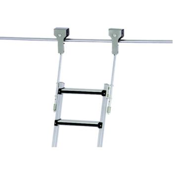 Regalleiter fahrbar Z 600 11 Stufen Einhäng