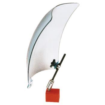 Späneschutzschild aus Acryl ohne Magnetfuß 200x250