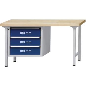 Kombi-Werkbank Mod. 726 V Platte Buche-Massiv