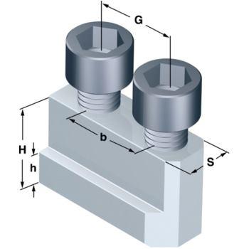Nutensteine Nutbreite 12 mm Spitzverzahn.