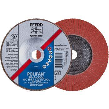 POLIFAN®-Fächerscheibe PFC 180 A 120 SG-COOL/22,23