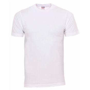 T-Shirt Basic weiß Gr. XXL