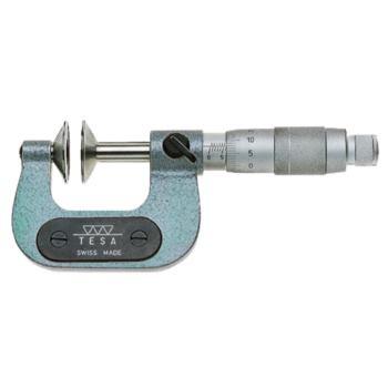 Zahnweiten - Messschraube 100 - 125 mm im Etu