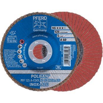 POLIFAN®-Fächerscheibe PFF 125 A 60 SG-COOL/22,23