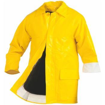 Regenjacke Winter-Bau gelb Gr. XL