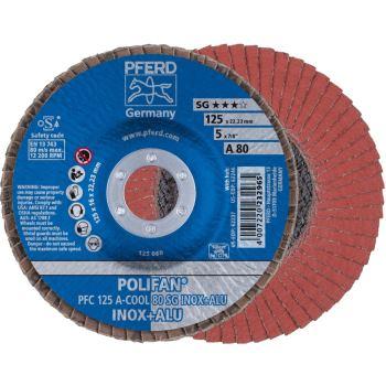 POLIFAN®-Fächerscheibe PFC 125 A 80 SG-COOL/22,23