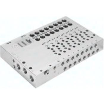 VABM-L1-10HW-G18-24-M-GR 573932 ANSCHLUSSLEISTE