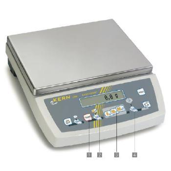 Tischwaage / 0,02 g ; 6000 g CKE 6K0.02