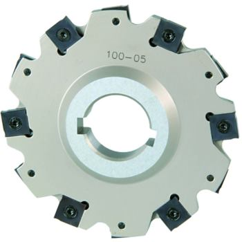 Wendeschneidplatten-Scheibenfräser 125mm o. Bund f ür WSP SNHX1203T,ap 6 mm