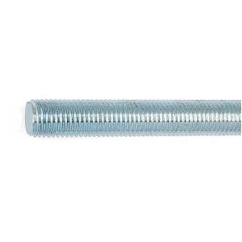 Gewindebolzen Form A DIN 976 Stahl 4.6 verzinktM6 x 204 100 Stück