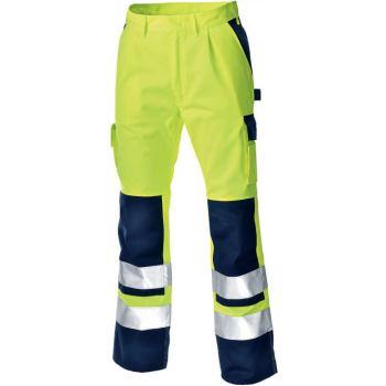 Olinda Warnschutz-Bundhose EN 20471 Klasseelb marine | 50