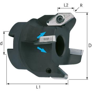 Eckmesserkopf für VCGT220530 80 mm Z=4