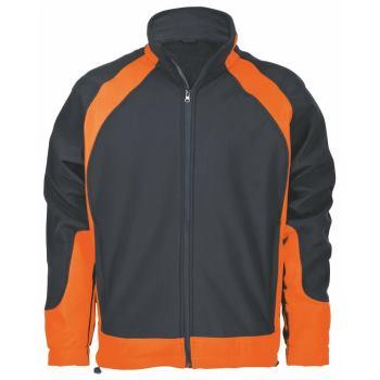 Softshelljacke Solution schwarz/orange Gr. M