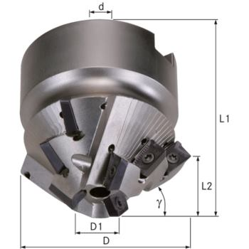 Fasenfräser 75 Grad Durchmesser 33x 60 mm