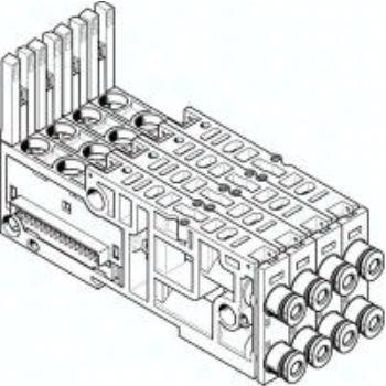 VMPAL-AP-4X10-QS6-2 561084 ANSCHLUSSPLATTE