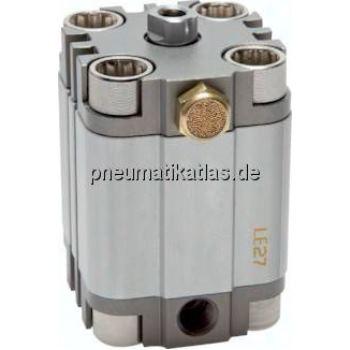 Kompaktzylinder, einfachwir- kend, Kolben Ø 63 mm,Hub 15mm