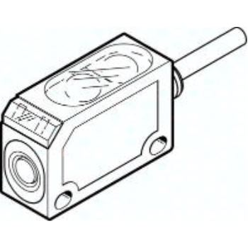 SOEL-RSP-Q20-NP-K-2L-TI 537762 Reflex-Lichtschranke