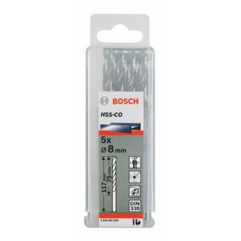 Metallbohrer HSS-Co Standardline, DIN 338, 9,5 x 8