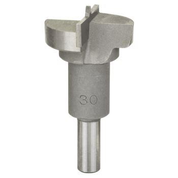 Scharnierlochbohrer Hartmetall, 30 x 56 mm, d 8 mm