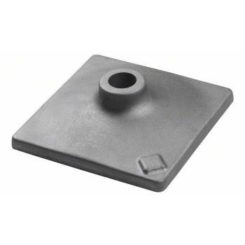 Stampferplatte, 120 x 120 mm