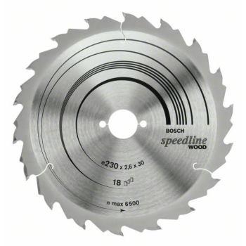 Kreissägeblatt Speedline Wood, 230 x 30 x 2,6 mm,