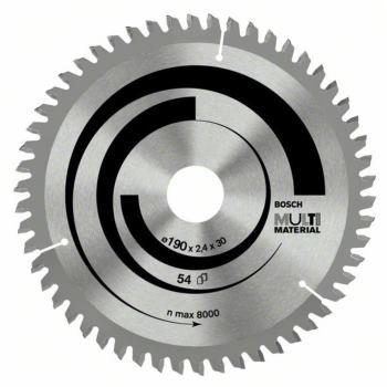 Kreissägeblatt Multi Material, 200 x 30 x 2,4 mm,