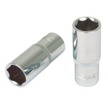 "1/2"" CHROMEplus® Sechskant-Stecknuss, lang, 15mm 9"