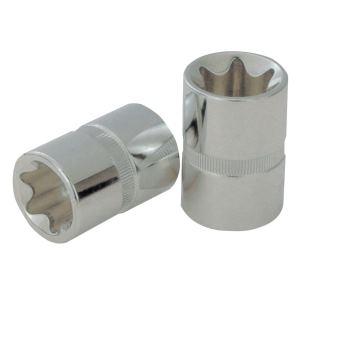 "1/2"" CHROMEplus® TX-E-Stecknuss, E16 918.1280"