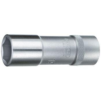 """Steckschlüsseleinsatz 1/2"""" lang 6-kant 19 mm"""
