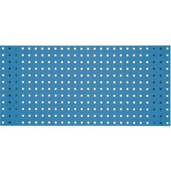 Lochplatte-himmelblau, 1500x450mm
